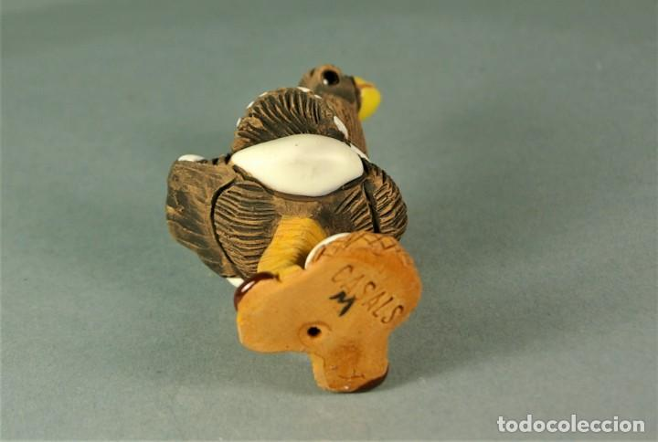 Vintage: CASALS Peru - AVESTRUZ Ceramica Vidriada Escultura Cerámica ORIGINAL Terracota VINTAGE - Foto 6 - 183515006