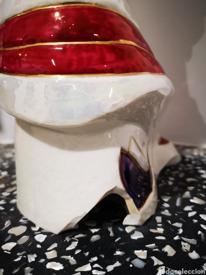 Vintage: Busto femenino en porcelana Galos, numerado. 35cm - Foto 7 - 183581520