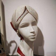 Vintage: BUSTO FEMENINO EN PORCELANA GALOS, NUMERADO. 35CM. Lote 183581520