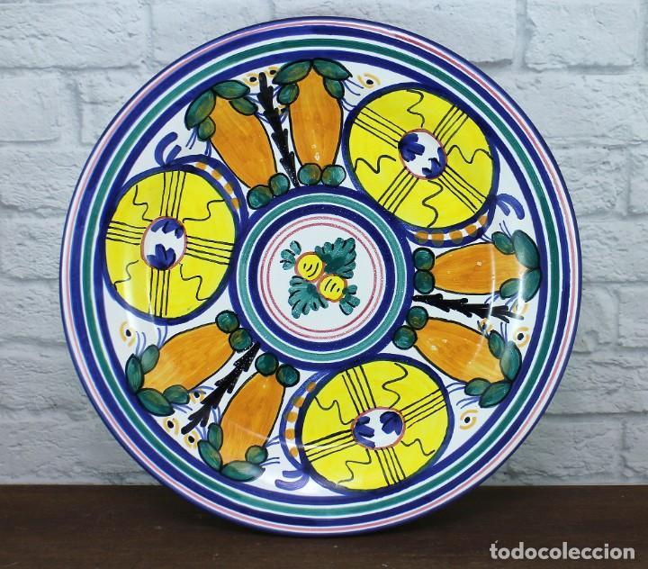 Vintage: Plato de cerámica - Firmado Crespo - Foto 2 - 183622820