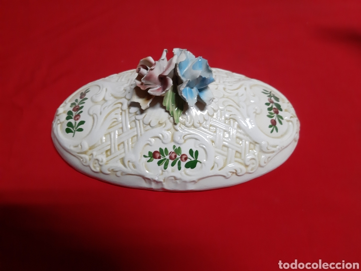 Vintage: Bonita sopera de porcelana italiana antigua en los años 60 BASSAMO - Foto 4 - 183711348