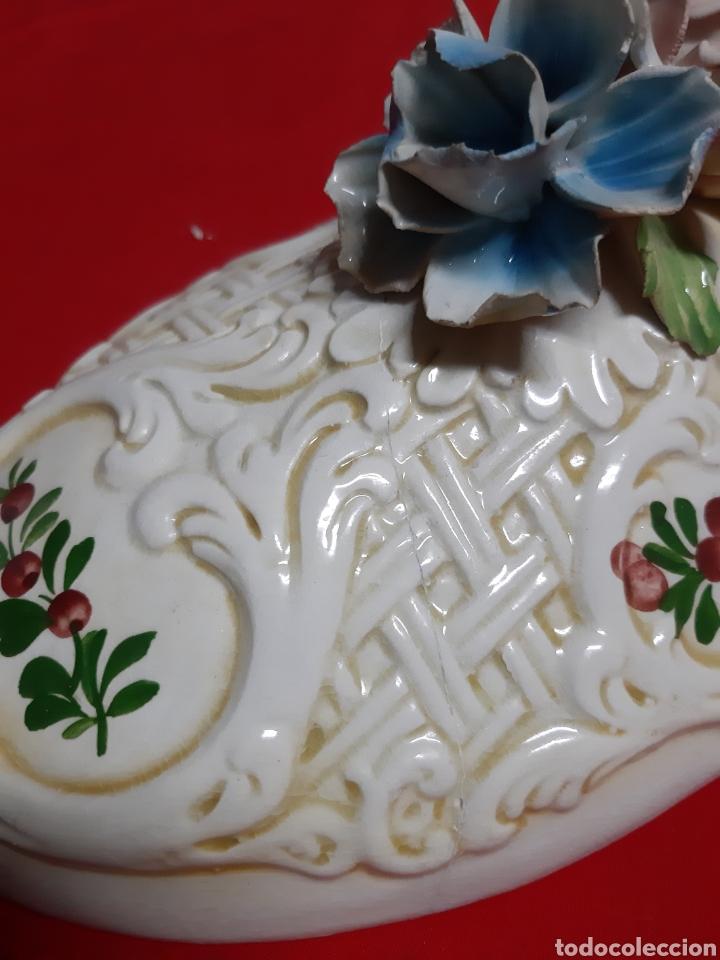 Vintage: Bonita sopera de porcelana italiana antigua en los años 60 BASSAMO - Foto 6 - 183711348
