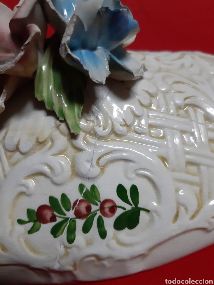 Vintage: Bonita sopera de porcelana italiana antigua en los años 60 BASSAMO - Foto 7 - 183711348