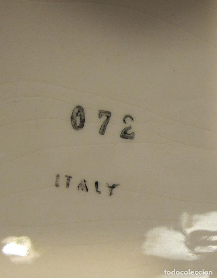 Vintage: CENTRO DE MESA DE CERAMICA LOZA ITALIANA. INSPIRACIÓN DE MORANDI. 17 X 44 X 4 CM - Foto 6 - 183839391