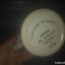 Vintage: JARRA DE CERVEZA EL AGUILA N° 2. Lote 184022407