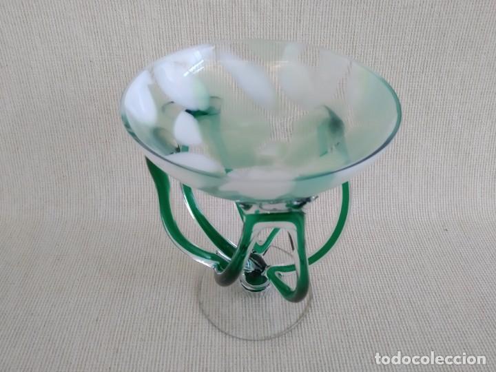 Vintage: Jarrón del cristal de arte , Jozefina, Polonia - Foto 2 - 184351962