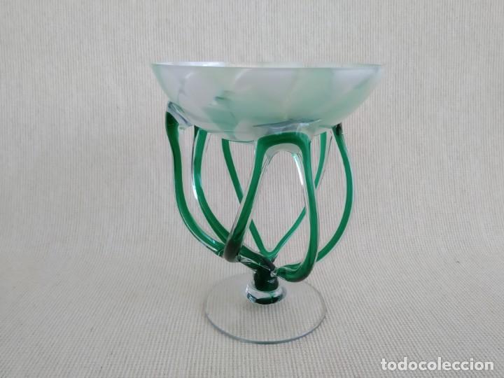 Vintage: Jarrón del cristal de arte , Jozefina, Polonia - Foto 3 - 184351962