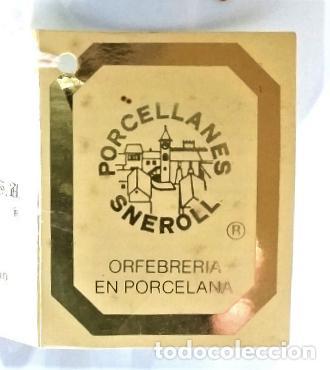 Vintage: Preciosa cafetera Sneroll en porcelana, oro y plata. - Foto 3 - 184382593