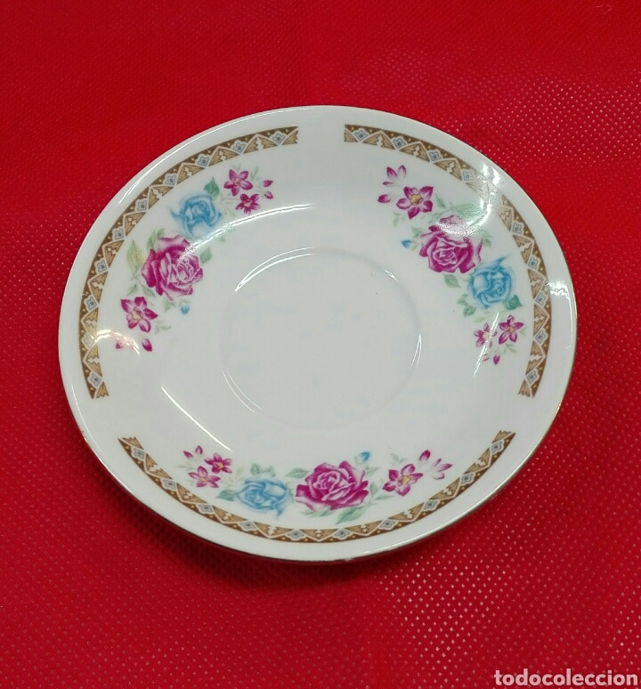 Vintage: 6 tazas, 6 platos de café de porcelana - Foto 3 - 185596211