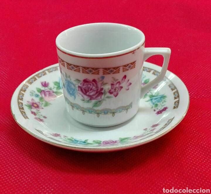Vintage: 6 tazas, 6 platos de café de porcelana - Foto 4 - 185596211