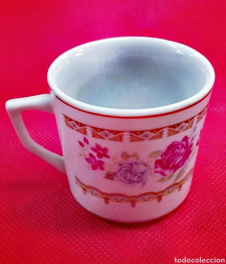Vintage: 6 tazas, 6 platos de café de porcelana - Foto 5 - 185596211