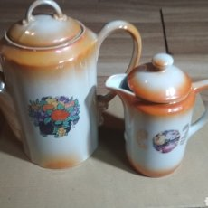 Vintage: JARRAS DE PORCELANA.. Lote 186447355
