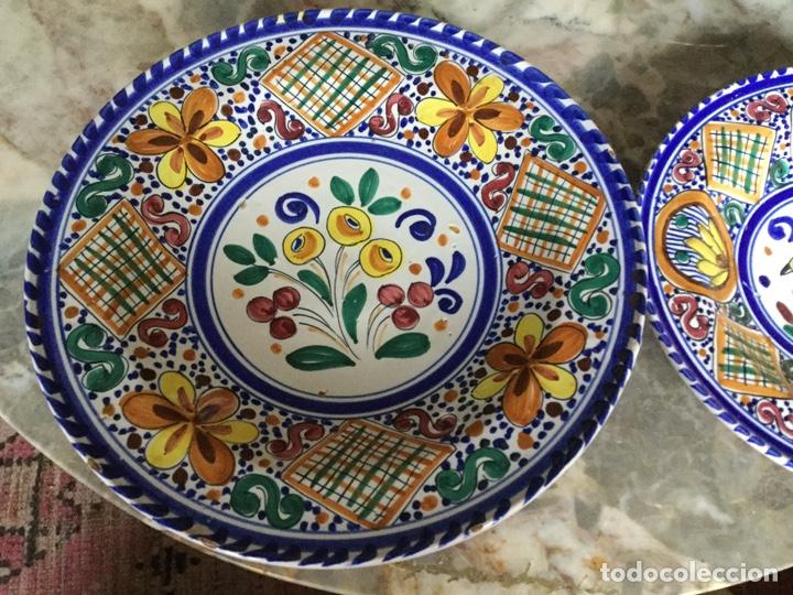 Vintage: Pareja platos Sanguino - Foto 2 - 187564011