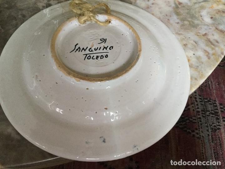 Vintage: Pareja platos Sanguino - Foto 8 - 187564011
