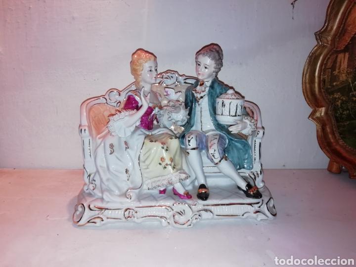 Vintage: Preciosa porcelana fina Japón con Puntilla. - Foto 2 - 188505240