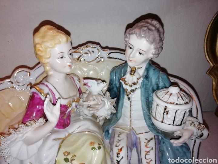 Vintage: Preciosa porcelana fina Japón con Puntilla. - Foto 5 - 188505240
