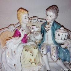 Vintage: PRECIOSA PORCELANA FINA JAPÓN CON PUNTILLA.. Lote 188505240