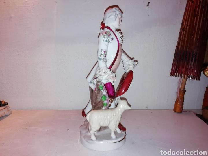 Vintage: Preciosa figura de porcelana Japón. Japan. - Foto 2 - 188579531