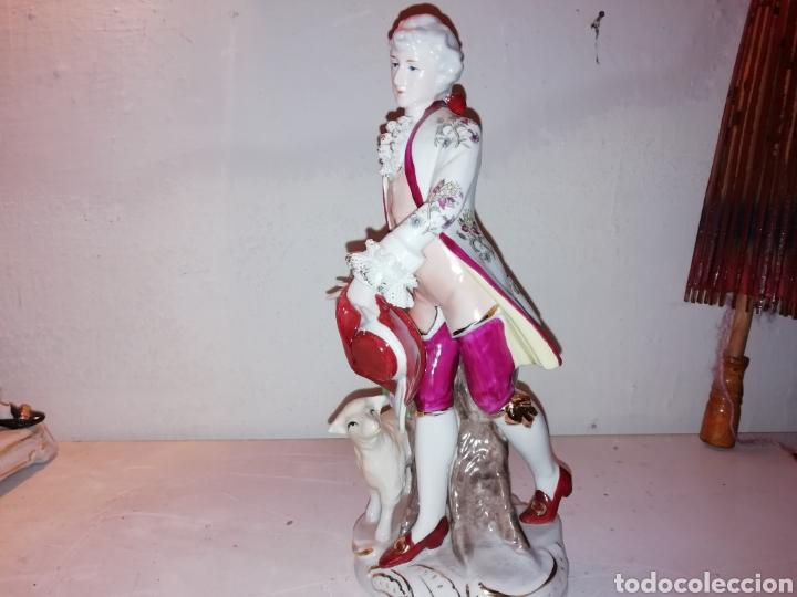 Vintage: Preciosa figura de porcelana Japón. Japan. - Foto 4 - 188579531