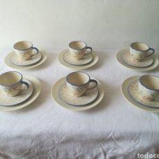 Vintage: JUEGO DE CAFE DE 6 SERVICIOS. Lote 189467358