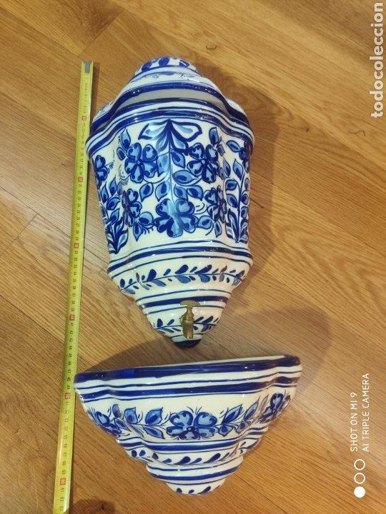 AGUAMANIL DE PARED (Vintage - Decoración - Porcelanas y Cerámicas)