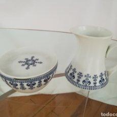 Vintage: JUEGO JARRA Y CUENCO BIDASOA. Lote 190039942