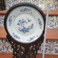 Vintage: SOPORTE DE PLATO Y PLATO.. Lote 190132463