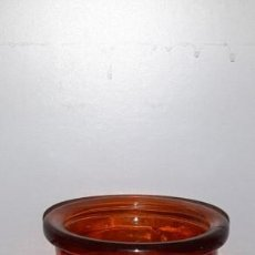 Vintage: JARRON CRISTAL NARANJA. Lote 191020575