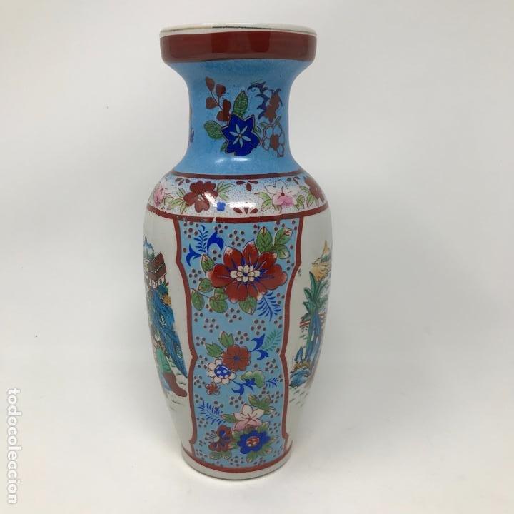 Vintage: Jarrón de origen chino - Foto 5 - 191109242