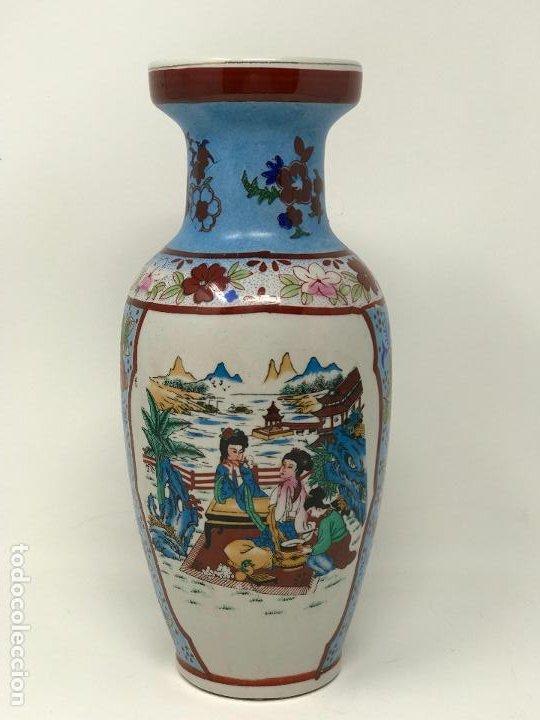 Vintage: Jarrón de origen chino - Foto 6 - 191109242