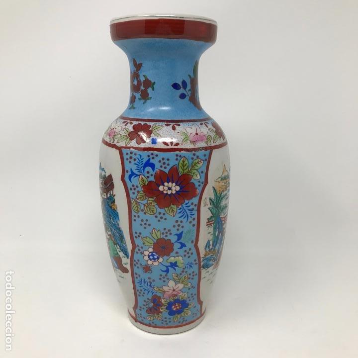 Vintage: Jarrón de origen chino - Foto 7 - 191109242