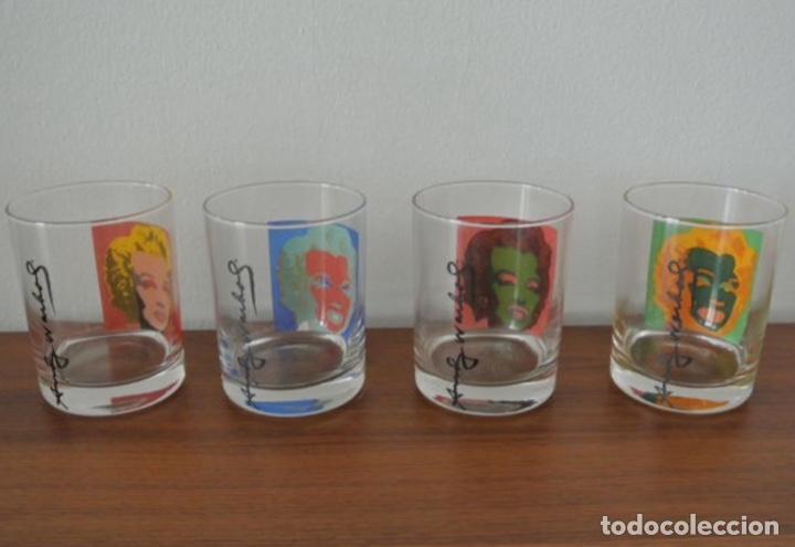 Vintage: Set 4 vasos Andy Warhol en su caja original jamás usados. Descatalogados piezas de coleccionista - Foto 4 - 191139821