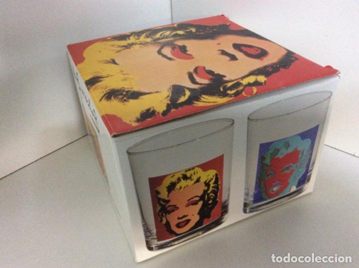 Vintage: Set 4 vasos Andy Warhol en su caja original jamás usados. Descatalogados piezas de coleccionista - Foto 6 - 191139821