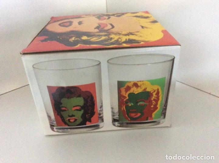 Vintage: Set 4 vasos Andy Warhol en su caja original jamás usados. Descatalogados piezas de coleccionista - Foto 8 - 191139821