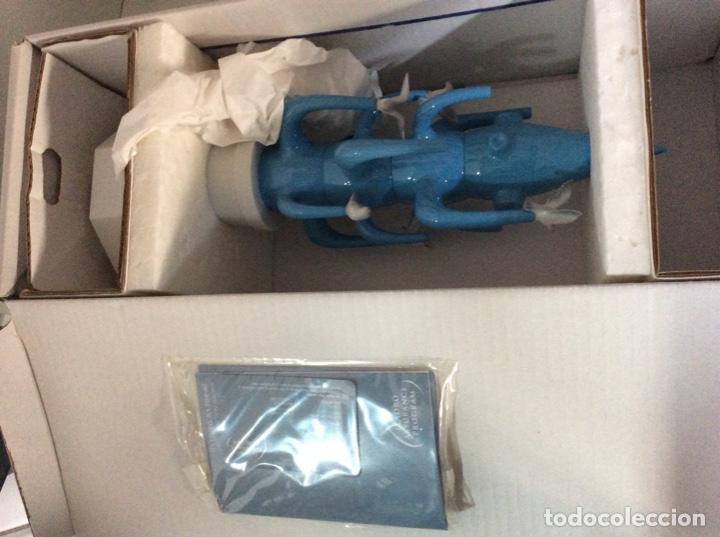 Vintage: Cactus 40cm azul claro de Lladro nuevo jamás sacado de la caja original diseñado por JAIME HAYON - Foto 3 - 191142697