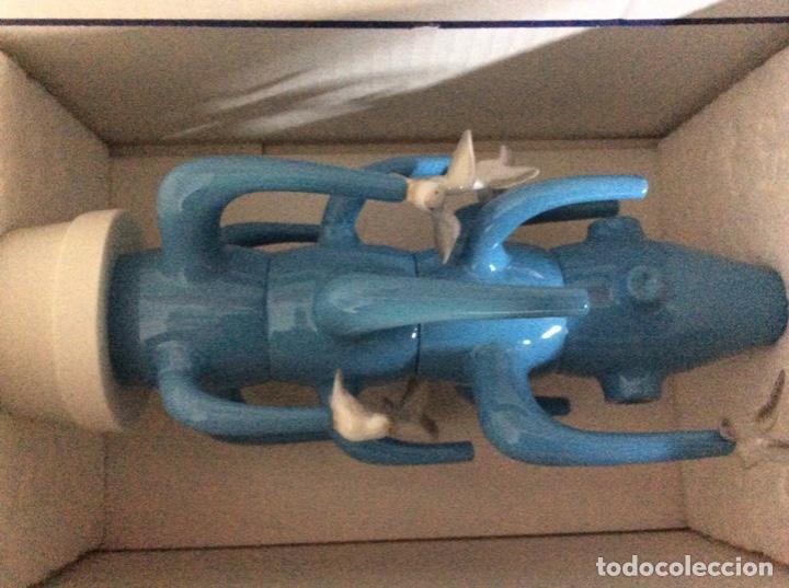 Vintage: Cactus 40cm azul claro de Lladro nuevo jamás sacado de la caja original diseñado por JAIME HAYON - Foto 4 - 191142697
