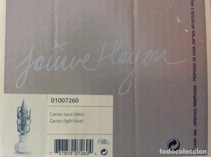 Vintage: Cactus 40cm azul claro de Lladro nuevo jamás sacado de la caja original diseñado por JAIME HAYON - Foto 6 - 191142697