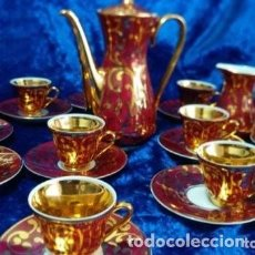 Vintage: JUEGO DE CAFÉ DE 12 SERVICIOS. Lote 191265073
