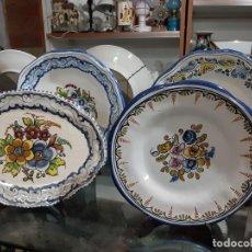 Vintage: PLATOS CERAMICA TALAVERA . Lote 191315752