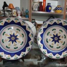 Vintage: PLATOS CERAMICA. Lote 191315846