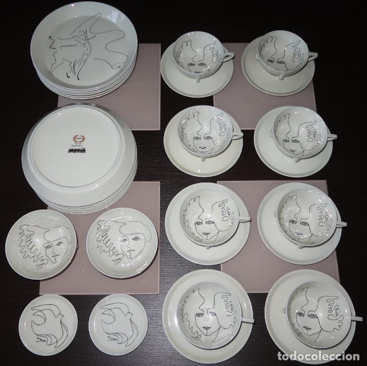 VAJIILA DISEÑO PARA IBERIA - FIRMADA M.L.GUZMAN - BIDASOA ¡SOLO VENTA Y RECOGIDA EN MANO EN MADRID! (Vintage - Decoración - Porcelanas y Cerámicas)
