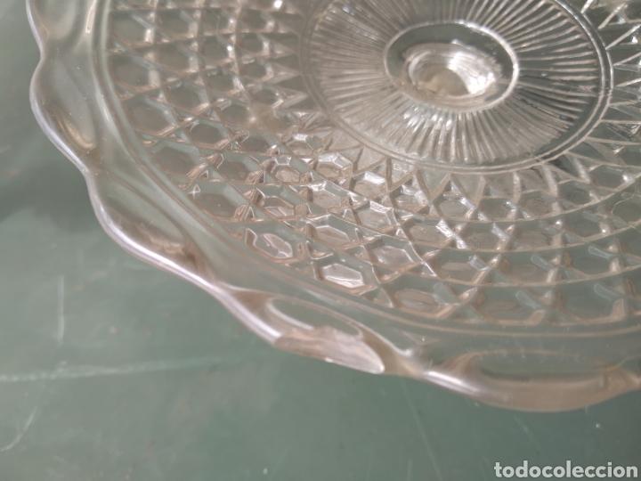 Vintage: Dos centros de cristal tipo frutero - Foto 2 - 191938245