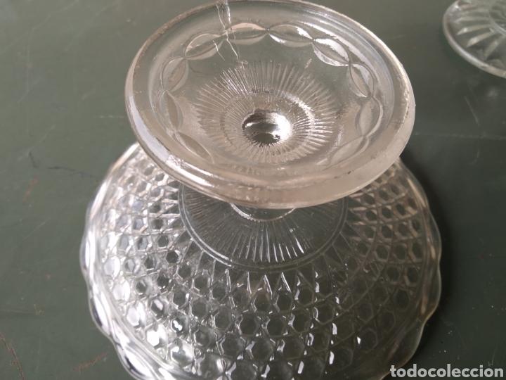 Vintage: Dos centros de cristal tipo frutero - Foto 5 - 191938245