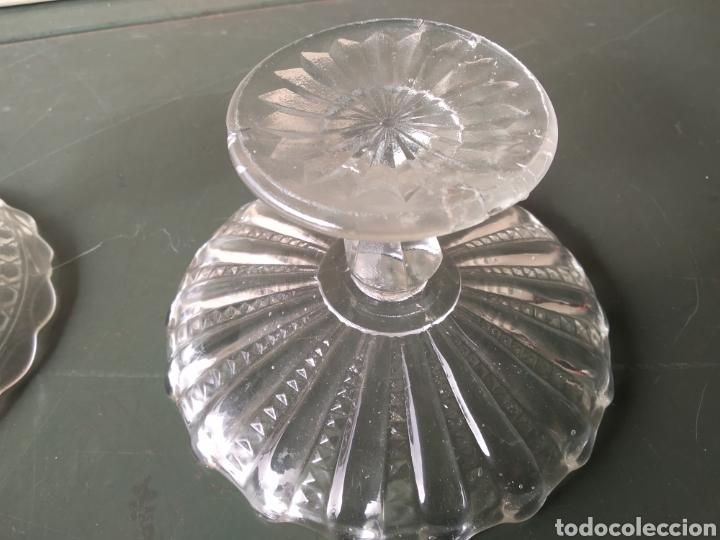 Vintage: Dos centros de cristal tipo frutero - Foto 11 - 191938245