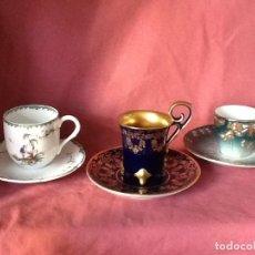 Vintage: 12 TAZAS DE PORCELANA DE COLECCION. Lote 192045900