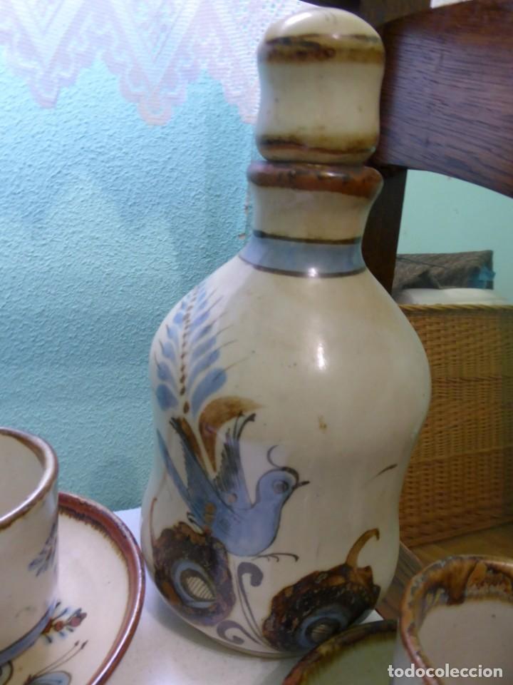 BOTELLA DE CERÁMICA KERANOS (MÉXICO) (Vintage - Decoración - Porcelanas y Cerámicas)