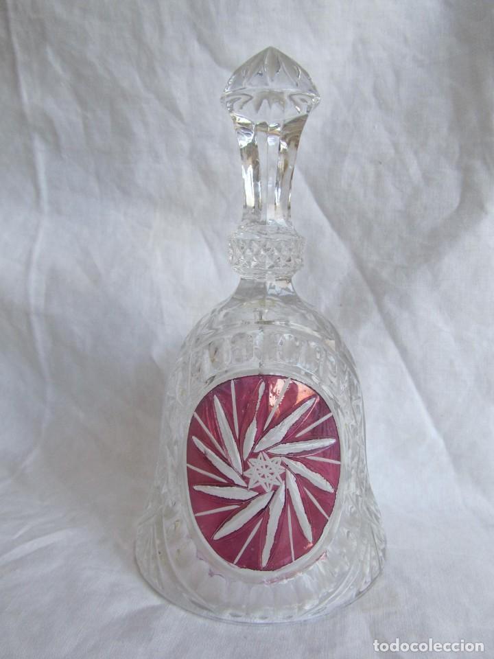 Vintage: Campana de vidrio o cristal Anna Hütte - Foto 3 - 194217933
