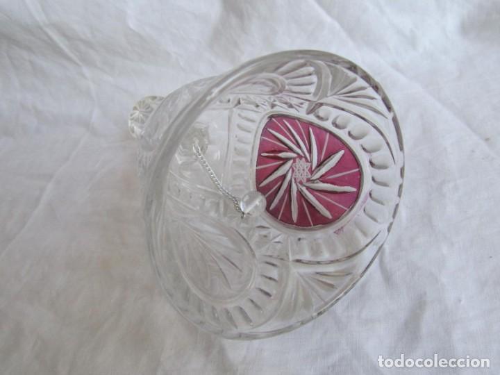 Vintage: Campana de vidrio o cristal Anna Hütte - Foto 8 - 194217933