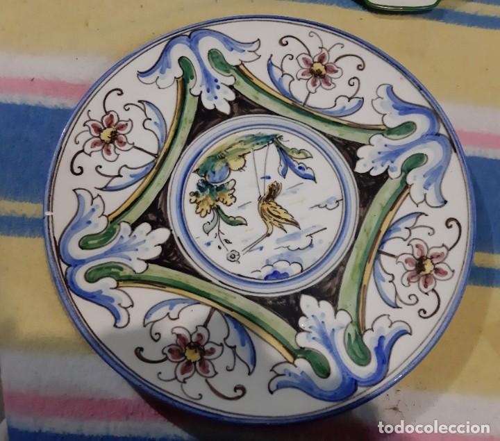 GRAN PLATO DE PORCELANA (Vintage - Decoración - Porcelanas y Cerámicas)