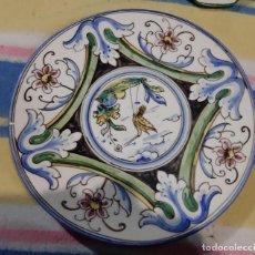 Vintage: GRAN PLATO DE PORCELANA. Lote 194249523